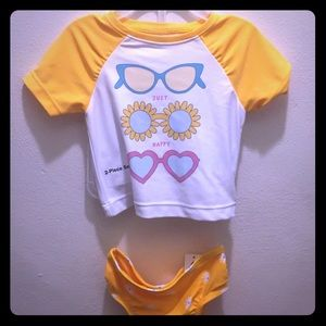 2 piece Swimsuit NWT 6-12 months